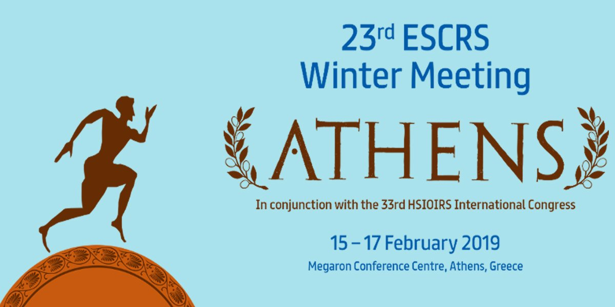 "EuCornea on Twitter: ""DELEGATE REGISTRATION FOR THE 23rd ESCRS WINTER  MEETING Including CORNEA DAY IS OPEN! 15-17 February 2019 in Athens,  Greece. Online Registration Deadline: 14th February 2019. Save time and  money"