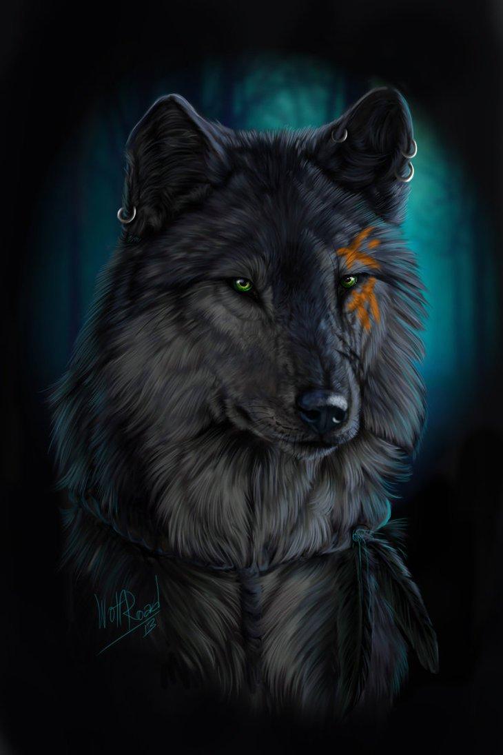 Испании новым, крутые картинки волки