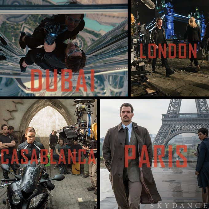 Which #MissionImpossible location is on your bucket list? #TravelTuesday Photo