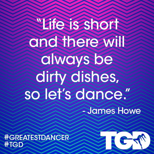 This gives us shivers, so true 🙌 #WednesdayWisdom #TGD #GreatestDancer