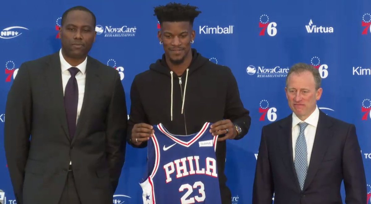 Jimmy Butler is a Sixer.