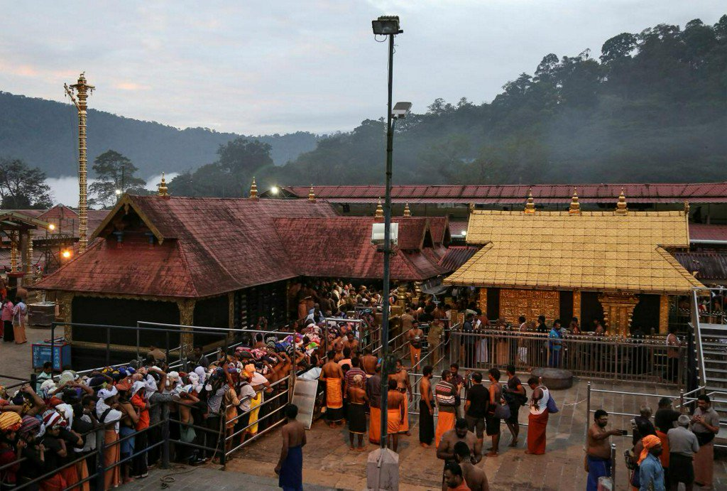 India court to review lifting of temple ban on women of menstruating age https://t.co/Lgb3GKNkNl https://t.co/KVWhf6X07q