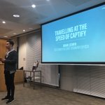 'As a young entrepreneur, surround yourself with grey hairs - even if it doesn't feel like what you want to do! ' from @adam_ludwin of @Captify 👌🏼