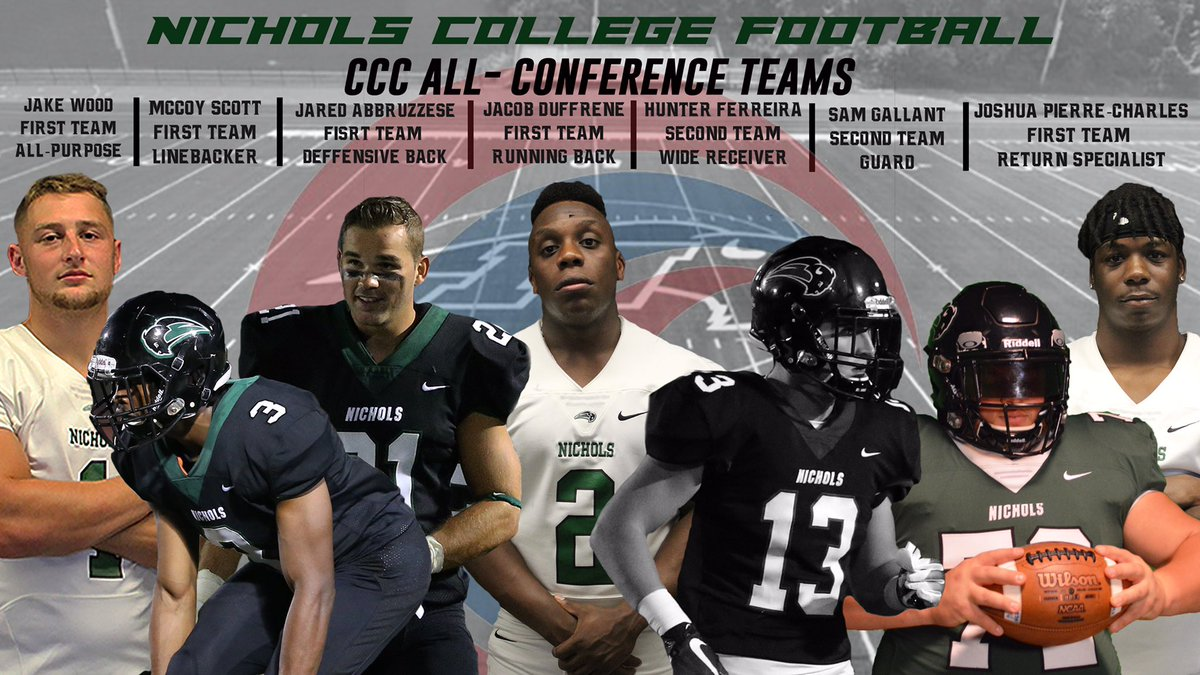 FOOTBALL: seven student-athletes receive #CCCFB All-Conference honors #bisonpride #d3football #NCAA @NCbison_FB