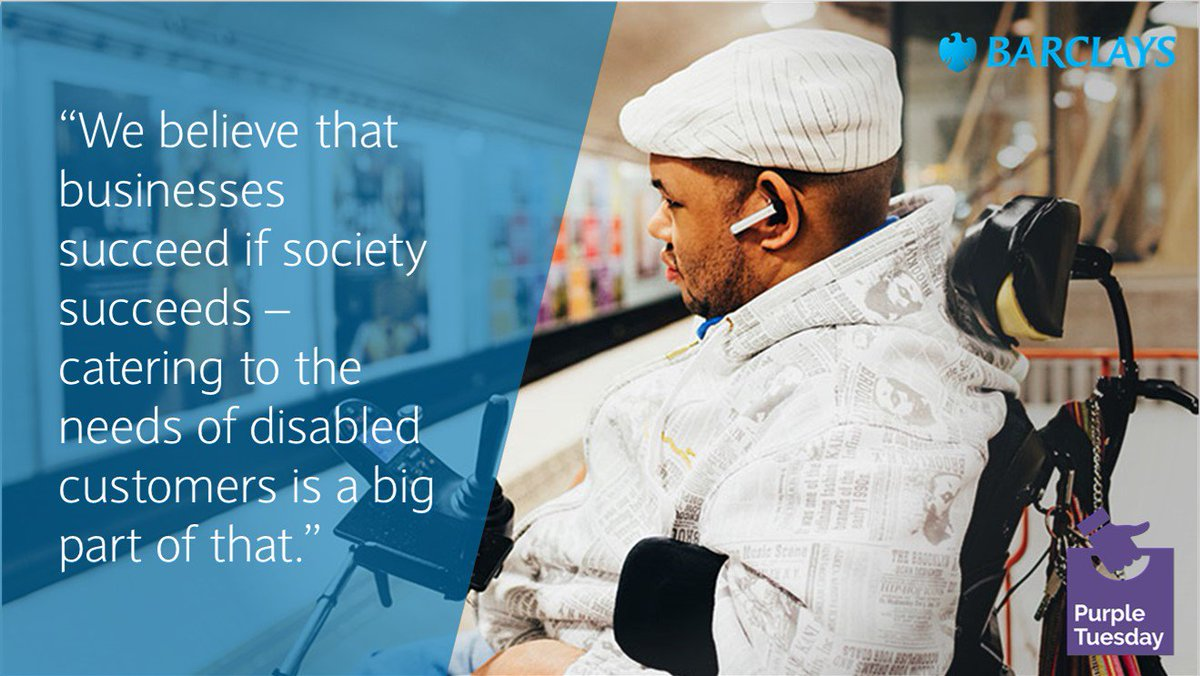 Hiring People With Disabilities Isnt Just The Right Thing >> Barclays Bank On Twitter We Re Proud To Support The Purpletuesday