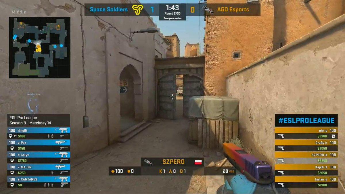 .@pazzcsgo spraying the glocks away~ #ESLProLeague live.proleague.com/csgo