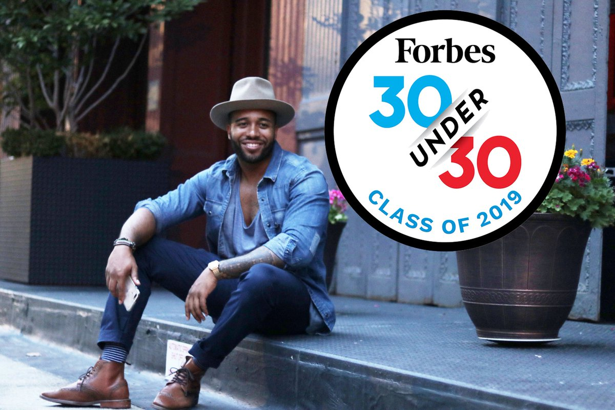 I am deeply humbled by the support you all show me.  From becoming a @Comic_Con Humanitarian of the Year to being chosen as one of the 100 most influential African Americans of 2018 by @TheRoot and now being named a member of the @Forbes 30 Under 30.  Thank you so much!!!