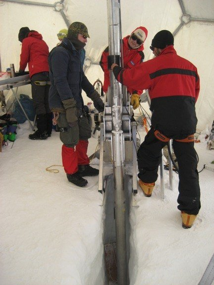 test Twitter Media - In 2013 a team from @HarvardSoHP @Harvard @UMaine retrieved a 73m ice core from Colle Gnifetti, Swiss Alps. The ice core captures invaluable information about #climatechange & human-climate interactions from the last 2000 yrs. Results revealed TOMORROW! https://t.co/gjohiT9eos https://t.co/gIKirNrbhD