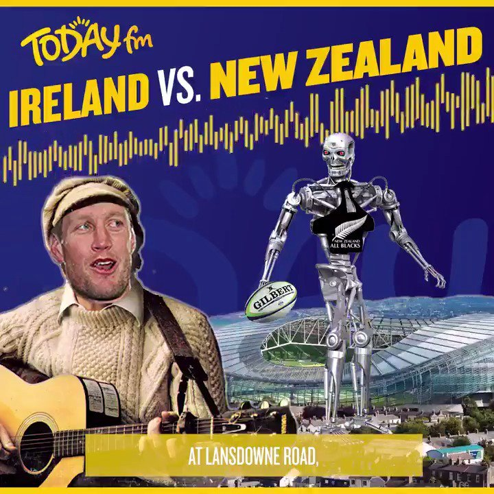 The only song you need ahead of the BIG game this weekend! 🏉🇮🇪🎶 #COYBIG Well be singing this all bloody week now! #GiftGrub #IREvNZL @GiftGrubMario @IanDempsey @IrishRugby