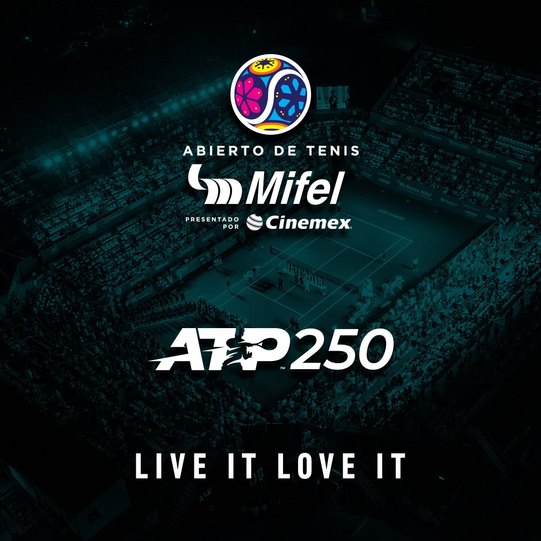 Live It. Love it... all. Welcome to the new era of @ATPWorldTour ! #ATP250 #LosCabos