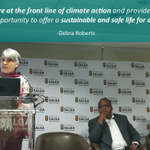 Image for the Tweet beginning: Dr Debra Roberts, IPCC Co-chair