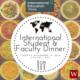 test Twitter Media - Are you an #internationalstudent? As part of #IEW, Pangea is hosting their 3rd annual International Student-Faculty Dinner  tonight at 5:30pm in Daniel Family Commons. Stop by for food and community! 🌍 🍽️ https://t.co/fIivrFNsDF https://t.co/wwAwX75l4h