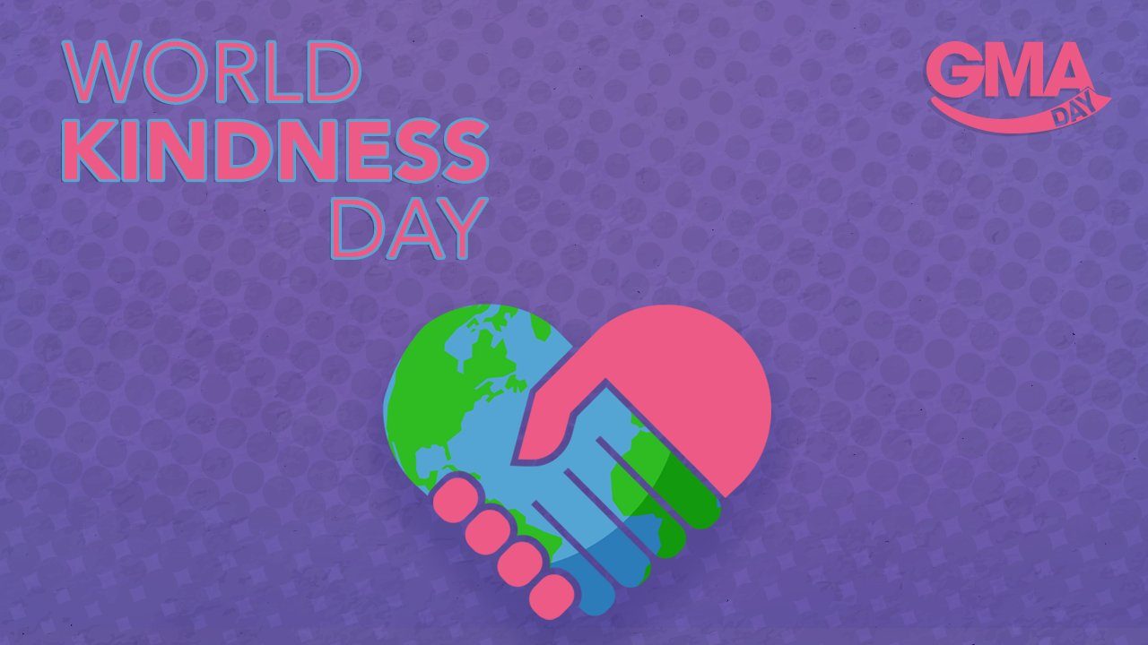 Happy #WorldKindnessDay!  #GMADay https://t.co/LUKfafWg8L https://t.co/n9xFjLZ80k