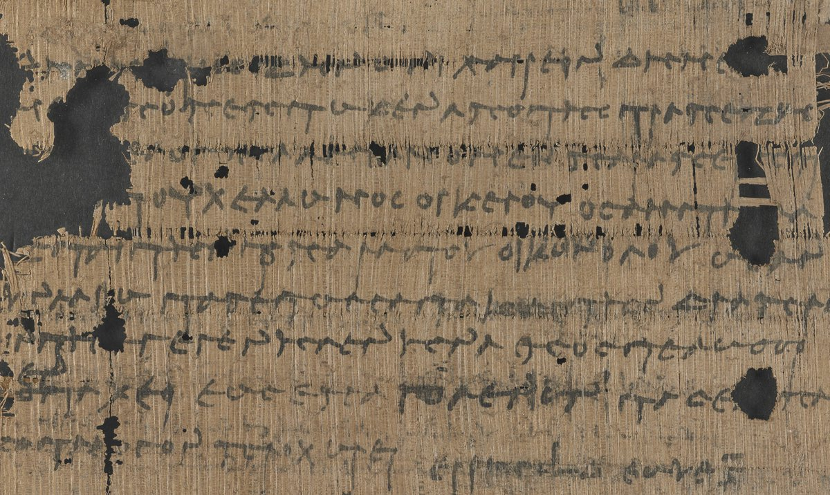 Switching accounts is easy but not new:  &quot;Demeas has been disappointed in your bank so we are taking our account from you Peisistratos.&quot;  An angry customer&#39;s letter from 2250 years ago in @BLMedieval Papyrus 2346 #CustomerExperience #bankingtech #TuesdayThoughts <br>http://pic.twitter.com/xU6s5IWrmg