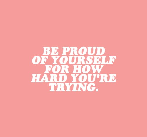 Don't ever discredit yourself and your accomplishments!! 💕