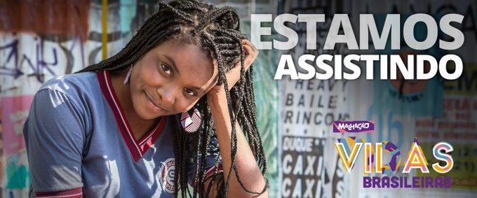 ✨ Começoooooooooooooooou! ✨ #VidasBrasileiras #Malhação Foto