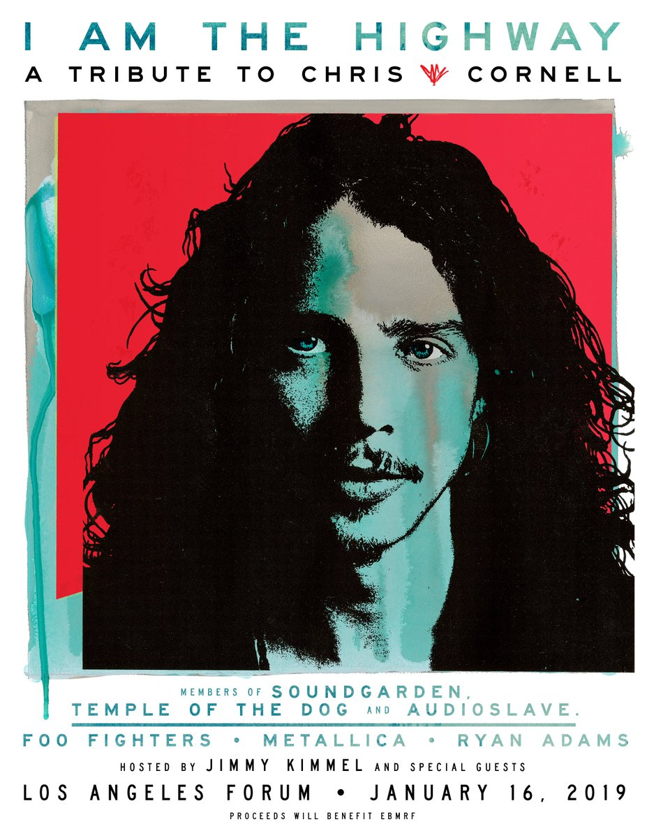 I AM THE HIGHWAY: A TRIBUTE TO CHRIS CORNELL January 16th | @theforum | Los Angeles, CA Tickets on sale Friday, Nov. 16 at 10am PT FooFighters.lnk.to/IATH #iamthehighway