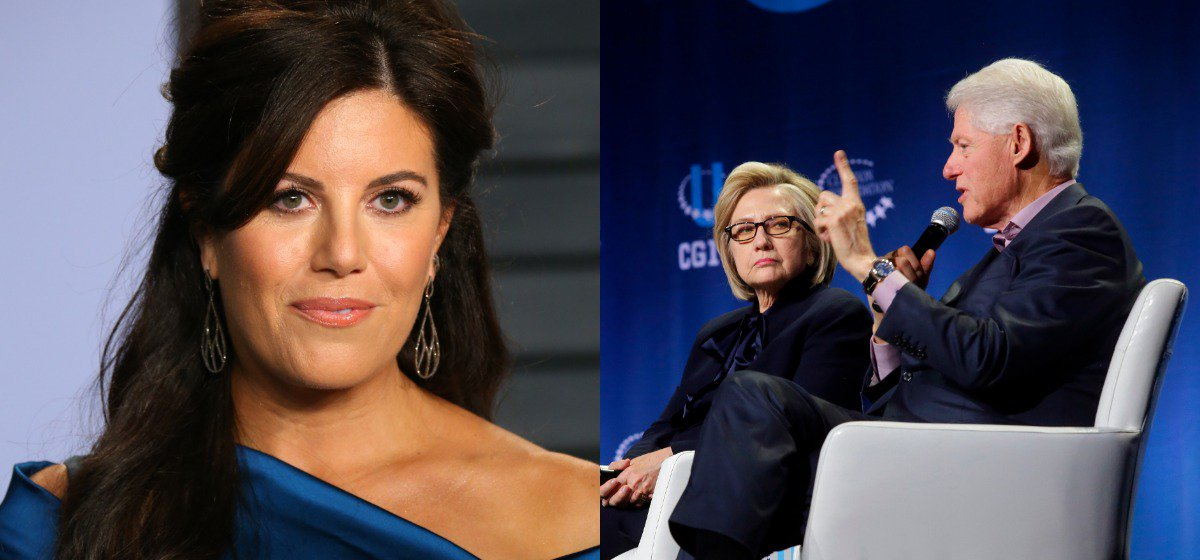 Monica Lewinsky Attacks Complicit Media For Never Asking Bill Clinton About Their Affair https://t.co/ERhvjuEO5O https://t.co/7ohZnFBDLf