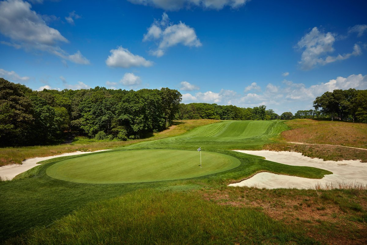 Six months from today, we welcome the strongest field in golf to Bethpage Black for the 101st #PGAChamp.  ( : the par-4, sixth hole) <br>http://pic.twitter.com/Mp8EOvzL82
