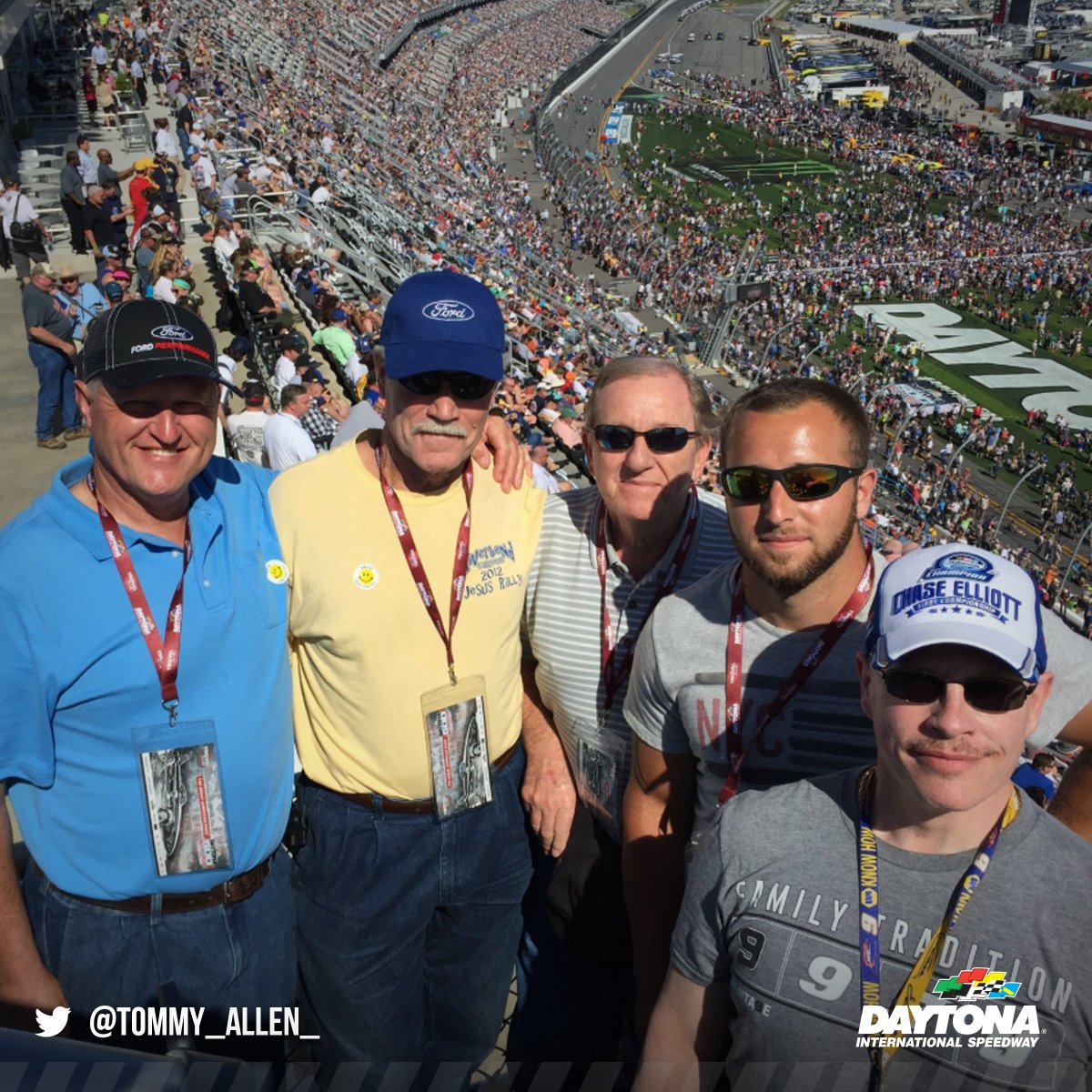 The ultimate group get together!  #FanFriday