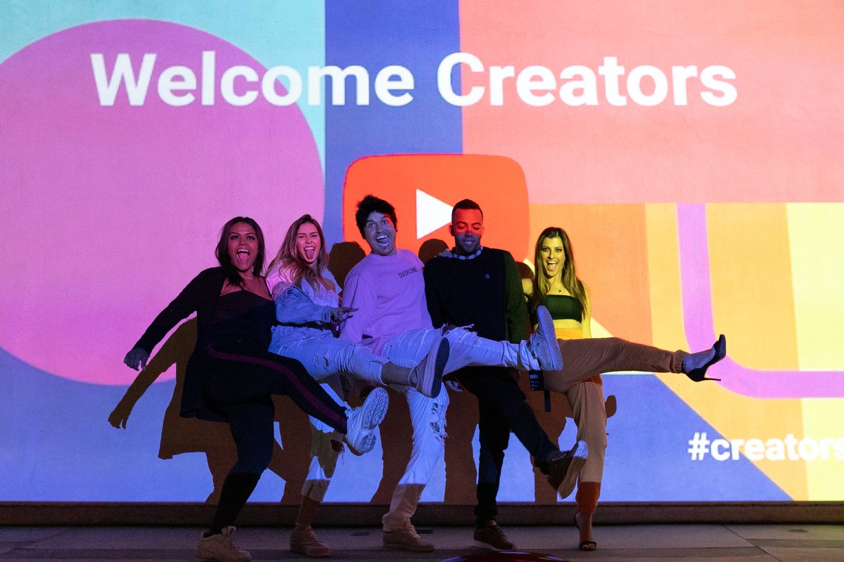 ¡Hola! Olá! Hello! Creators from all over Latin America have gathered for the LatAm #creatorsummit! Let the fun begin! 🎉📹