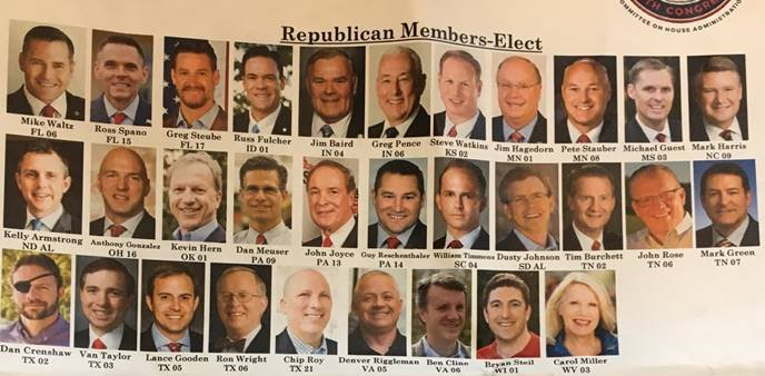 House Republicans-elect look pretty different from House Democrats-elect.
