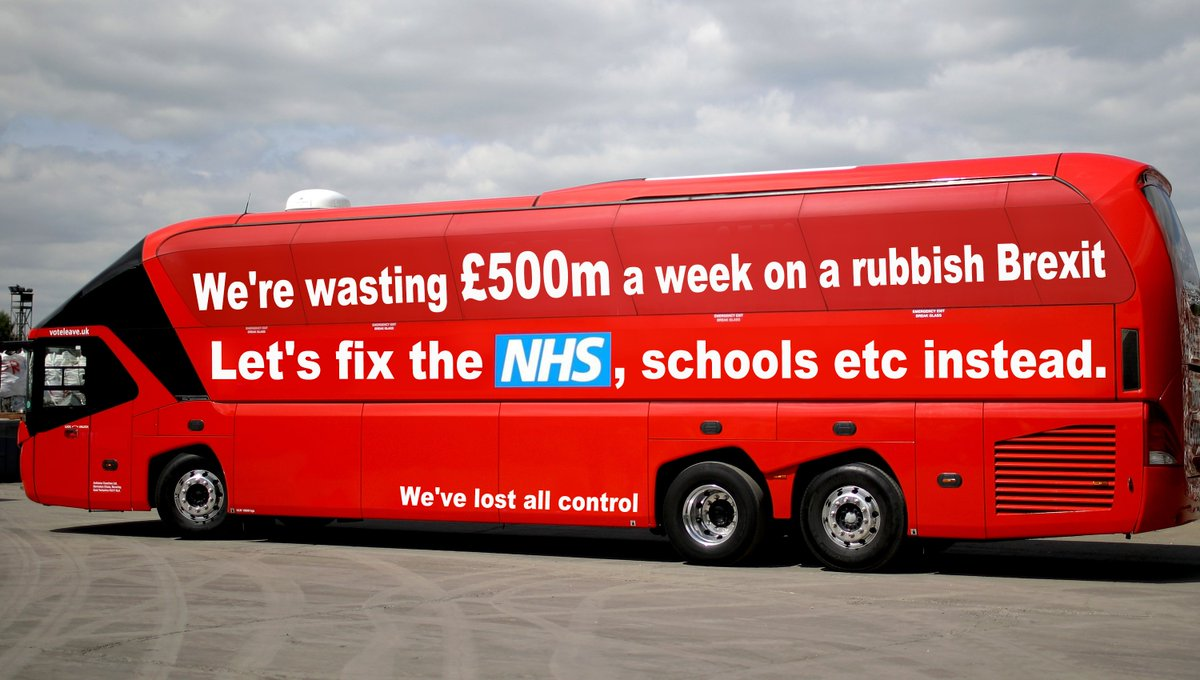 Latest bus update. #BrexitDeal