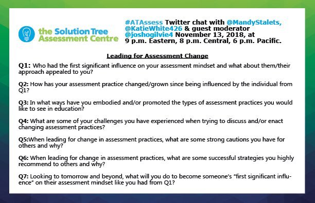 #atassess is tonight! Join us and share your assessment story.