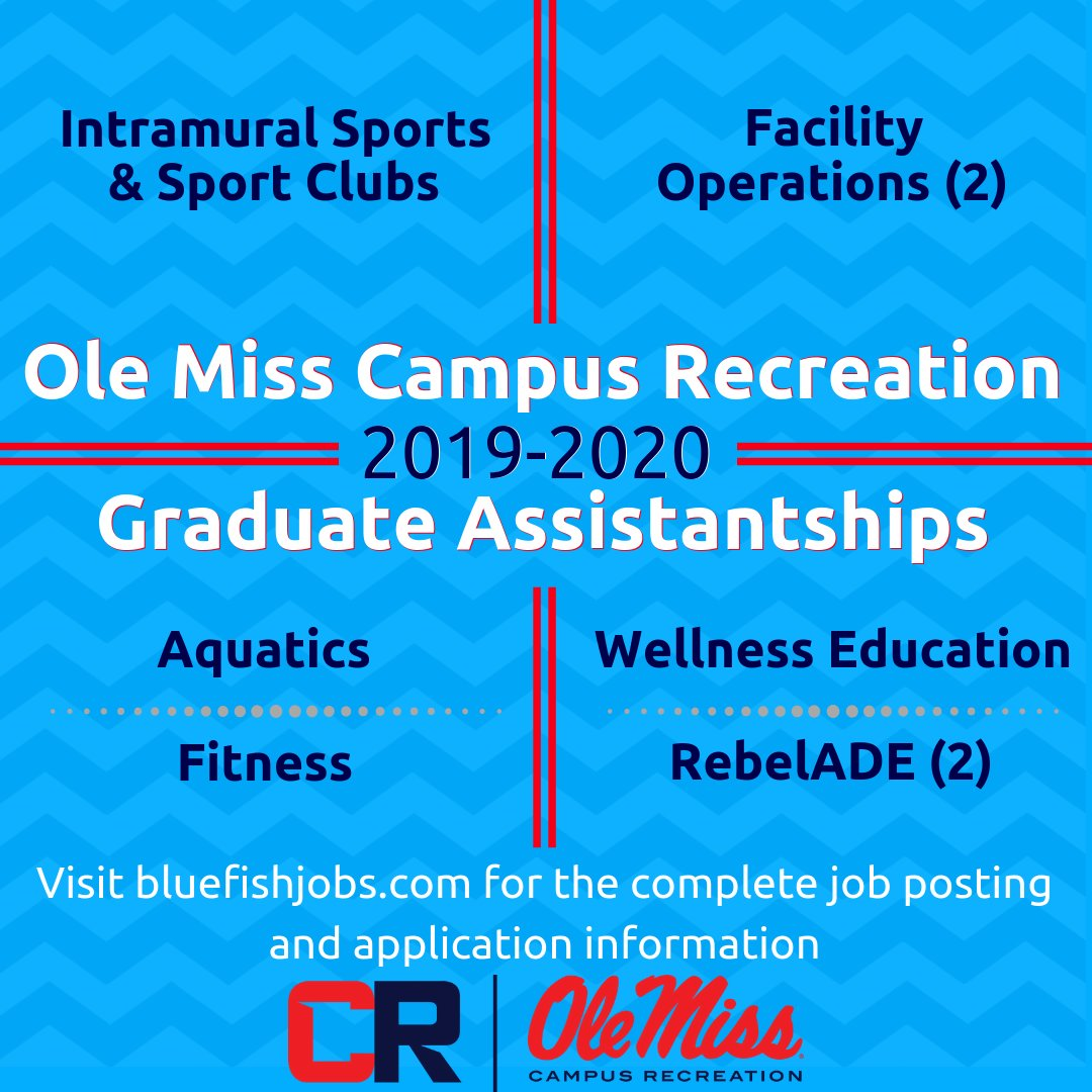 Ole Miss Graduation 2020.Olemiss Campusrec On Twitter We Are Hiring For 8