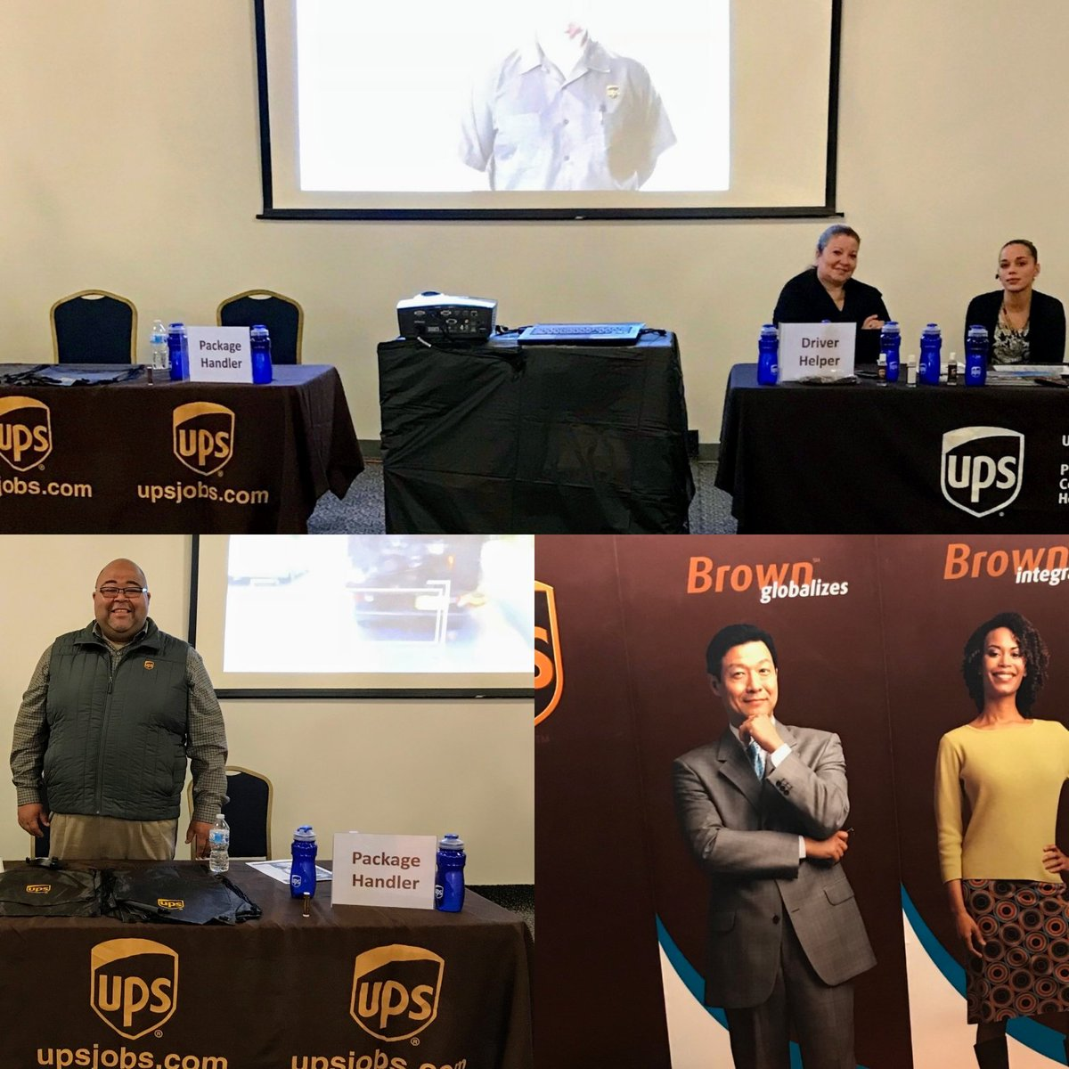 Hey @ChesapeakUPSers send your friends and family to become a part of the @UPSers team. We are the Concilio center in North Philly interviewing and hiring for many positions. #Teamphlsnaps Night Hub needs you. Come on down. @JohnEitel2 @UPSTrayceParker