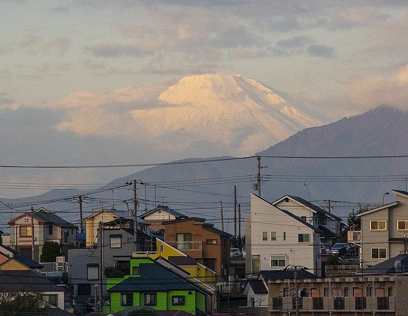 RT @fujiyamao: 横浜から。11月14日。#富士山 https://t.co/E170ogThVk