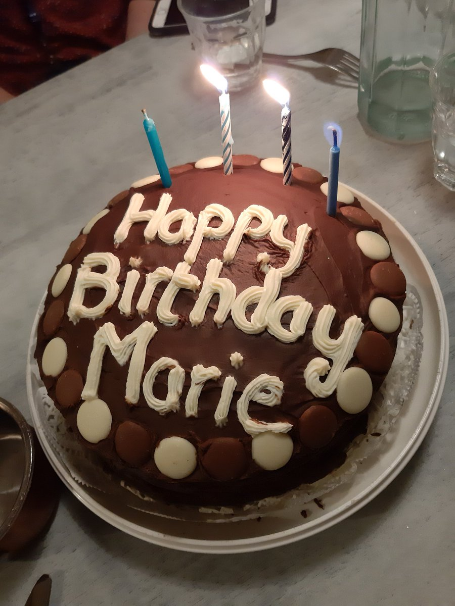 Sensational Marie Conway On Twitter Not One But Two Birthday Cakes Courtesy Birthday Cards Printable Opercafe Filternl