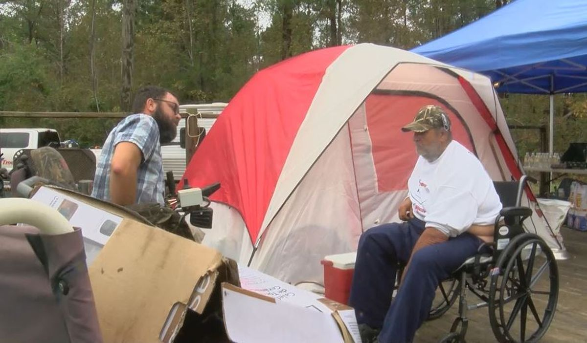 'I prayed for a miracle and it rolled in today': Disabled veteran reeling from Florence receives camper, new wheelchair. https://t.co/FQDe8tggiQ