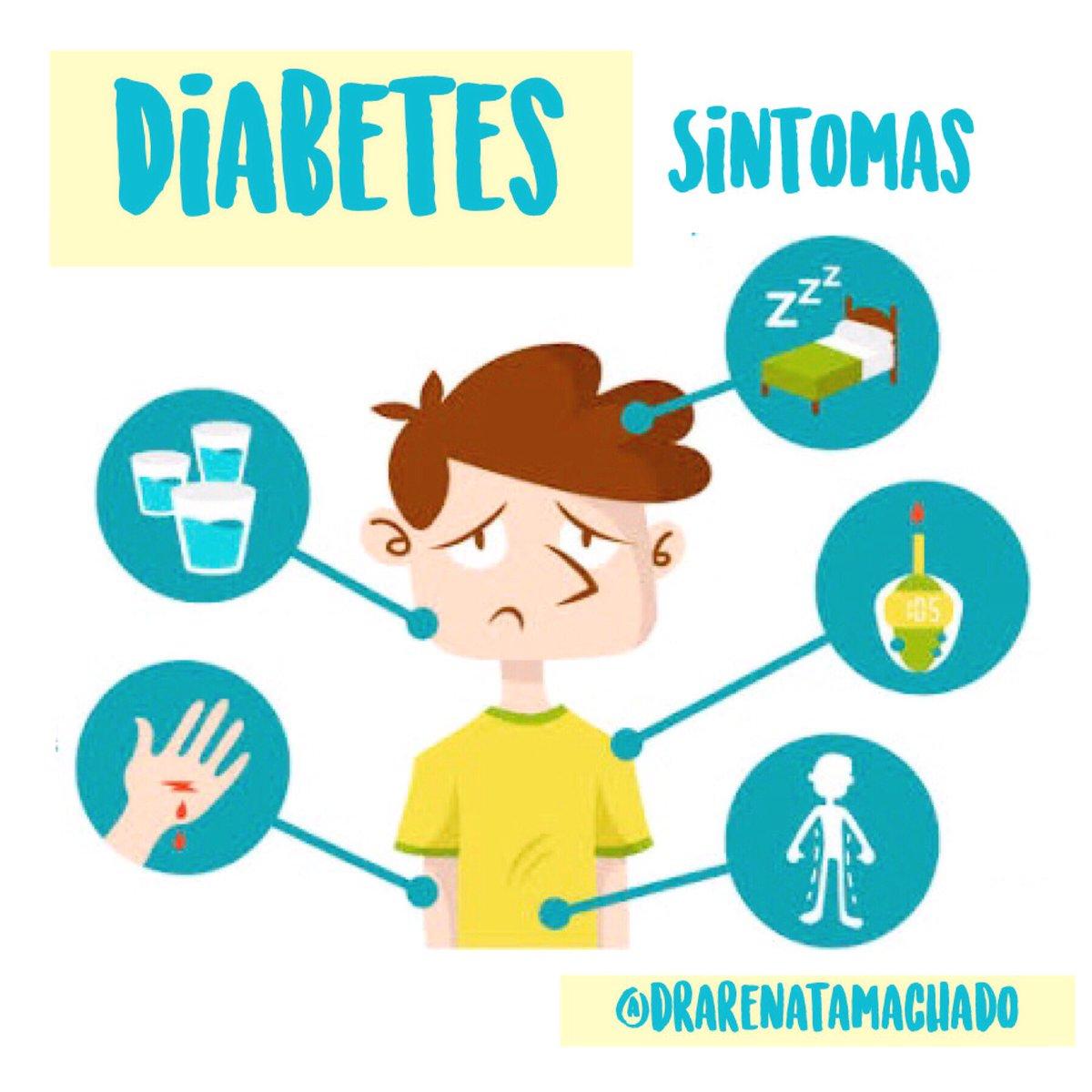 que no es un síntoma de diabetes mellitus