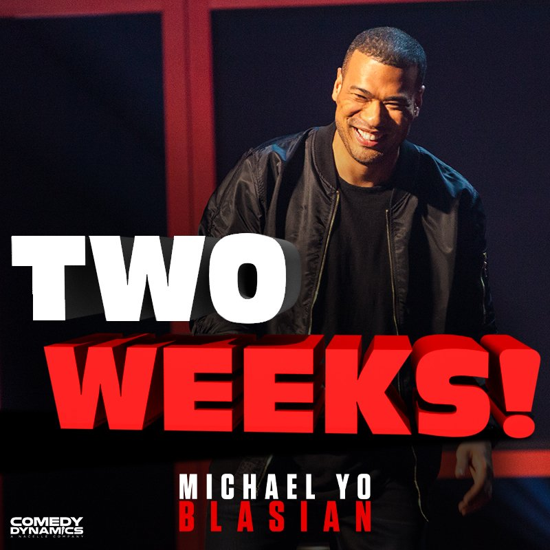Get ready to laugh along with Michael Yo when #Blasian comes out in two weeks! Pre-order it today here: https://apple.co/2OPAQT7  . . . . #ComedyDynamics #YoBlasian #Hilarious #MichaelYo #CantWait #LOL