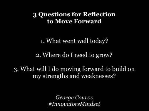 3 Questions for Reflection to MoveForward georgecouros.ca/blog/archives/…