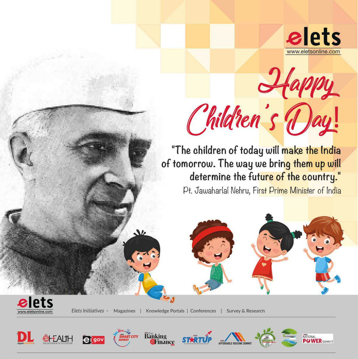 test Twitter Media - We wish good luck to those who will decide the growth of the society in future...  HAPPY CHILDREN's DAY!!!  #Childrensday #education #schooleducation  @eletsonline @chandananand26 @dubeyashutosh79 https://t.co/IY9rvipSoU