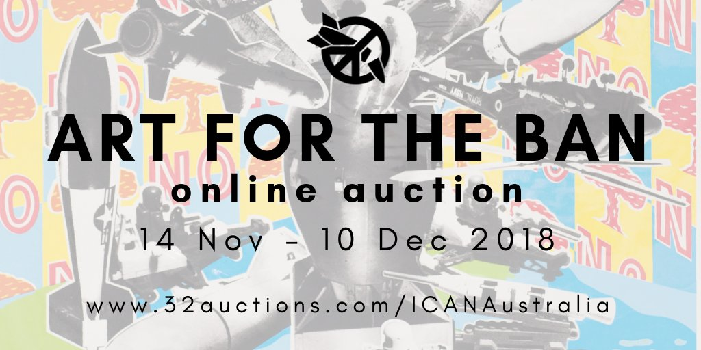 Ican Australia On Twitter Our Online Art Auction Has Officially Launched Featuring Pam Debenham John Wolseley And John Rodsted Check It Out And Support Our Work Https T Co Wqp7lo8ui7 Tpnw Art Fundraiser Nuclearban Https T Co 6fgpqjyynt