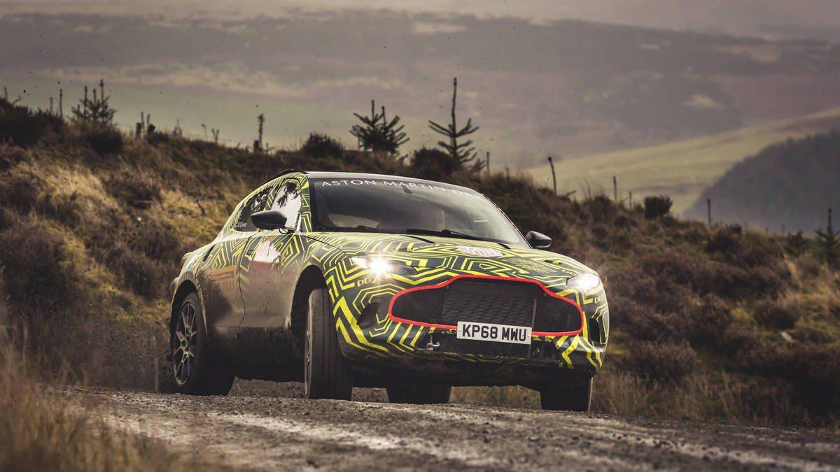 RT @AutoweekUSA: Aston Martin's DBX…