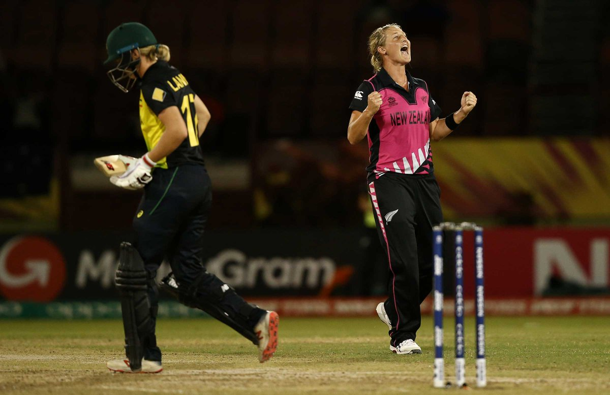 A New Zealand fightback has restricted Australia to 7-153 after a lightning fast start with Alyssa Healy's third successive #WT20 fifty, writes @JollyLauz18 in Guyana: https://t.co/b6g4FPlsp4 #AUSvNZ