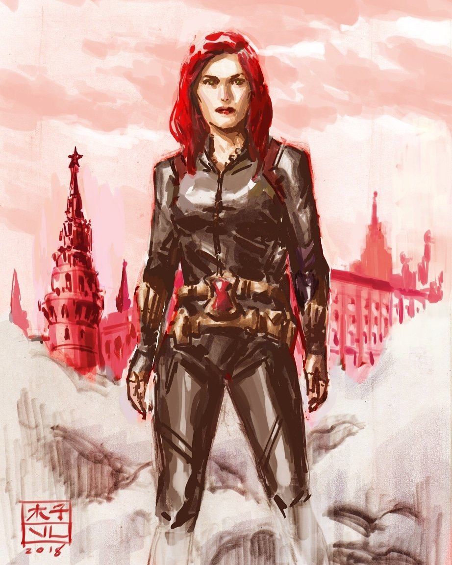Vincent Lee On Twitter Blackwidow Sketch I Resisted The