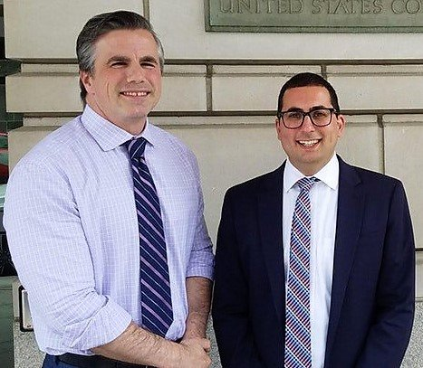 "Clinton aide Cooper asked how many e-mail accounts he set up for Clinton: ""To the best of my recollection two or three."" Cooper also said that he helped set up accounts for Huma Abedin and Chelsea Clinton. Pic w/@JudicialWatch attorney Michael Bekesha (r). https://www.judicialwatch.org/press-room/press-releases/judicial-watch-releases-testimony-of-clinton-email-administrator-clinton-lawyer-cheryl-mills-communicated-with-him-a-week-prior-to-testimony/ …"