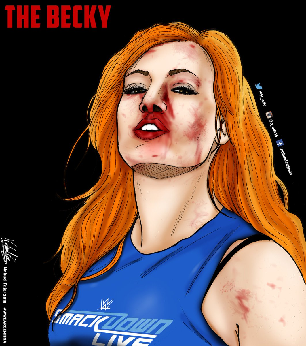 THE BECKY THE Best THE Over THE Heel THE Face THE Woman THE Man THE Champ Get well soon @BeckyLynchWWE #WWE #WWEArgentina #SDLIVE #BeckyLynch #StraightFire #TheMan #SurvivorSeries #SmackDownLIVE #fanart @wwe