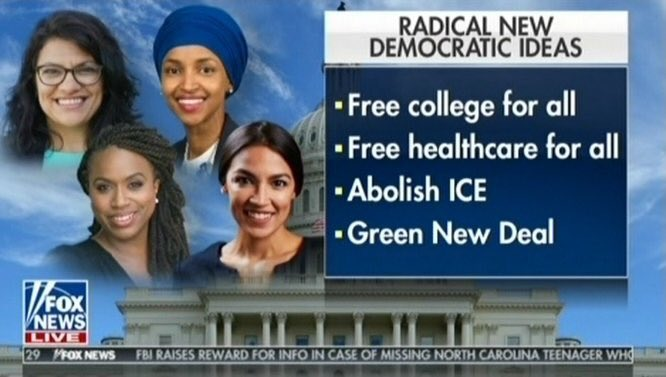 Very helpful for Fox News to design our graphics for us.