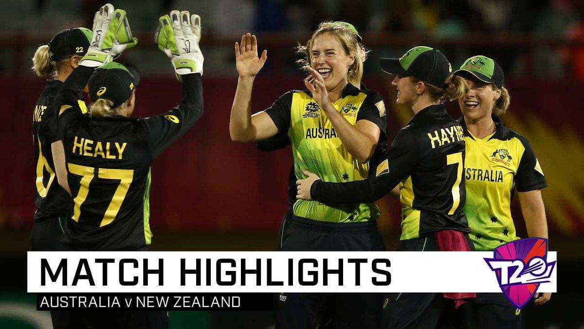 Alyssa Healy, Megan Schutt power Australia past NZ and into the #WT20 semi-finals, writes @JollyLauz18 in Guyana: https://t.co/b6g4FPlsp4