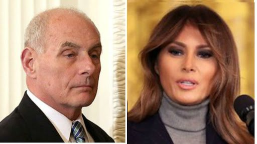 Kelly may leave White House after clashes with Melania Trump: report https://t.co/2EVYpDCYw3 https://t.co/4JuLyR5Jd2