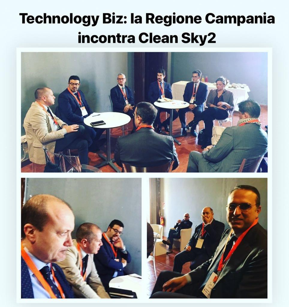test Twitter Media - #TBiz : Breakfast con i membri della commissione europea responsabili del programma Clean Sky 2 per la presentazione dei progetti Campani valutati positivamente da Clean Sky e finanziati dalla Regione Campania. https://t.co/Jt70HUhJri