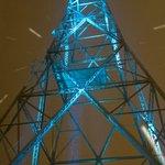 Image for the Tweet beginning: Radiomastot valaistaan tänään klo 18–22
