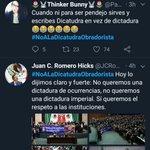 #NoALaDicatudraObradorista Twitter Photo