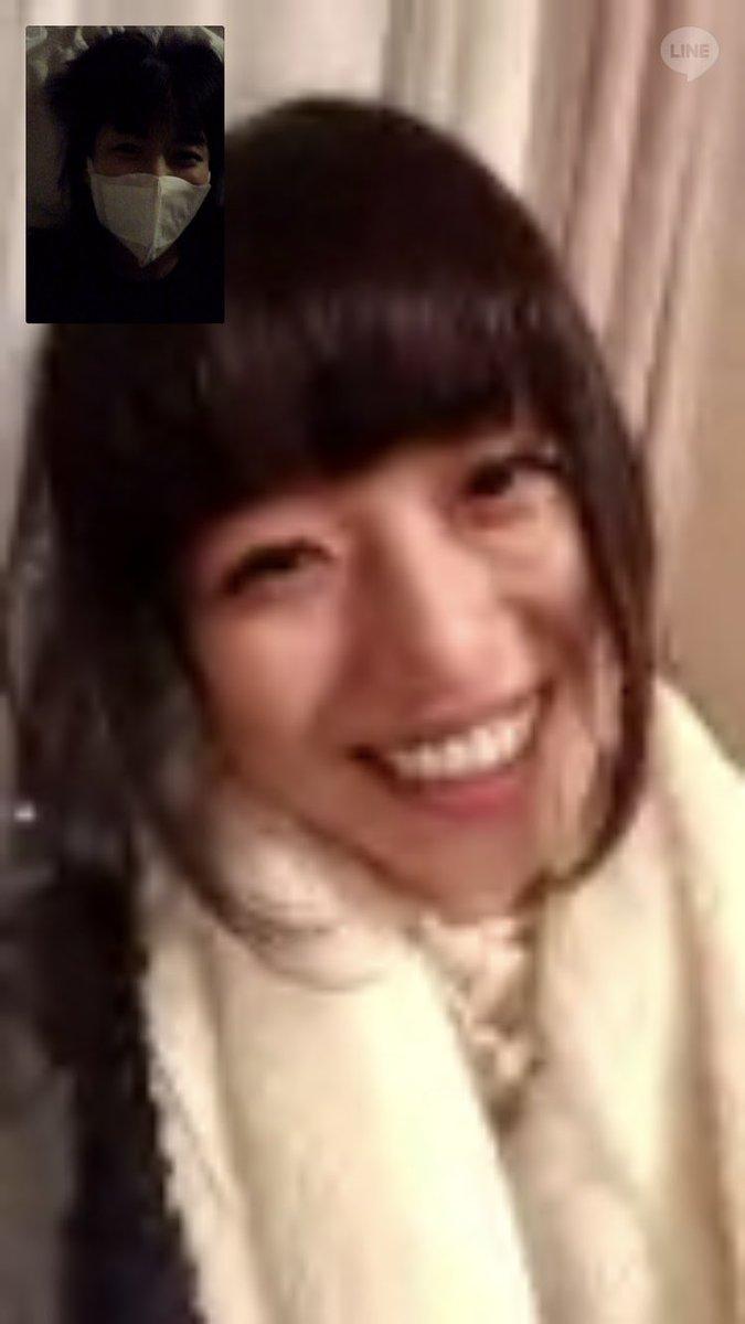 まほ姉→北海道 わたし→アメリカ テレビ電話してた。。。 仲良しか🤚❣️ #まほあい #つぶあい https://t.co/3WIRMpN8aK